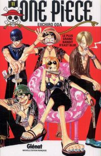 One Piece T11 : Le pire brigand de tout East Blue (0), manga chez Glénat de Oda