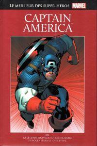 Marvel Comics : le meilleur des super-héros T7 : Captain America (0), comics chez Hachette de Stern, Rubinstein, Byrne, Roussos, Sharen