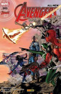 All-New Avengers T3 : Personne n'est plus rapide que la mort, comics chez Panini Comics de Duggan, Waid, Ewing, Sandoval, Kubert, Stegman, Oback, Isanove, Almara, Jimenez