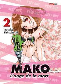 Mako l'ange de la mort T2, manga chez Panini Comics de Matsuhashi