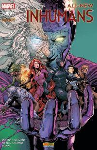 All-New Inhumans T3 : Intervention globale, comics chez Panini Comics de Asmus, Ellis, Soule, Zaffino, Fuso, McNiven, Caselli, Brown, Tartaglia, Mossa, Gho