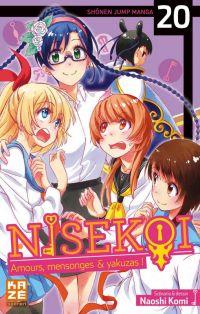 Nisekoi T20, manga chez Kazé manga de Komi