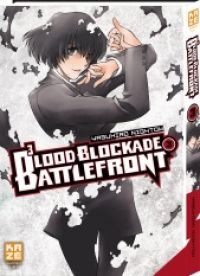 Blood blockade battlefront T3, manga chez Kazé manga de Nightow