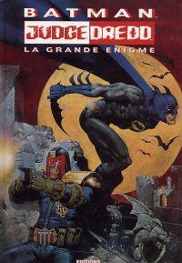 Batman - Judge Dredd T2 : La grande énigme (0), comics chez Editions USA de Grant, Wagner, Power, Critchlow