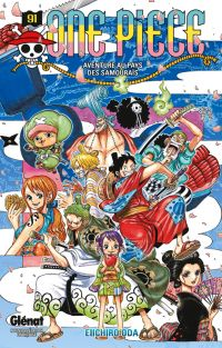 One Piece T91, manga chez Glénat de Oda