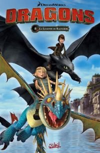 Dragons T5 : La Légende de Ragnarök, bd chez Soleil de Furman, Lawrence, Digikore studio