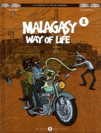 Les Aventures de Philou & Mimimaki T1 : Malagasy way of life (0), bd chez Des bulles dans l'océan de Farahaingo, Calinosophe
