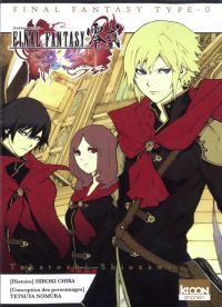 Final fantasy Type-0, manga chez Ki-oon de Shiozawa, Chiba, Nomura