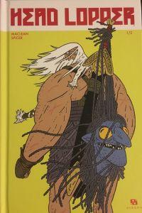 Head Lopper T1 : L'île, comics chez Ankama de Maclean, Spicer
