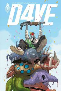 D4ve : , comics chez Ankama de Ferrier, Ramon, Staples