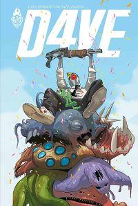 D4ve, comics chez Ankama de Ferrier, Ramon, Staples