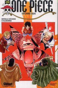 One Piece T20 : Bataille décisive à Alubarna (0), manga chez Glénat de Oda