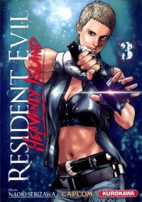 Resident evil - heavenly island T3, manga chez Kurokawa de Capcom , Serizawa