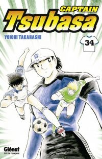 Captain Tsubasa T34 : , manga chez Glénat de Takahashi