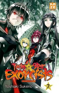Twin star exorcists T7, manga chez Kazé manga de Sukeno