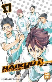 Haikyû, les as du volley T17, manga chez Kazé manga de Furudate