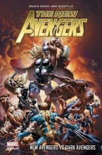 The New Avengers (vol.2) T2 : New Avengers vs Dark Avengers, comics chez Panini Comics de Bendis, Adams, Deodato Jr, Conrad, Mounts, Beredo