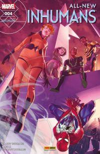 All-New Inhumans T4 : Lances célestes, comics chez Panini Comics de Asmus, Ellis, Soule, Caselli, Araujo, Peterson, Boschi, Brown, Mossa, Tartaglia, Campbell