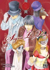 Signé le vin  T1, manga chez Pika de Agi, Okimoto