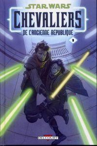 Star Wars (revue) – Chevaliers de l'ancienne république, T1 : Il y a bien longtemps... (0), comics chez Delcourt de Jackson Miller, Foreman, Ching, Atiyeh