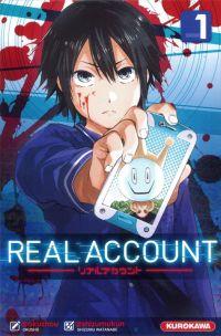 Real account T1, manga chez Kurokawa de Okushou, Shizumukun
