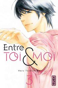 Entre toi & moi T3, manga chez Kana de Tsukishima