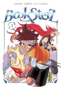 Booksterz  T1, manga chez Kana de Dos Santos, Guérin, Lapeyre
