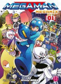 Megaman Megamix T1 : , manga chez Nobi Nobi! de Ariga