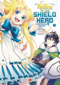 The rising of the shield hero T3 : , manga chez Bamboo de Aneko, Kyu