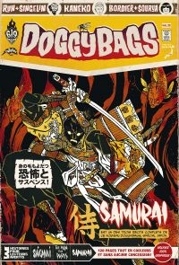 Doggybags T12 : Shiganai / The Man from Paris / Samurai, comics chez Ankama de Bordier, Kaneko, Run, Singelin, Yuck, Sihachakr