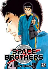 Space brothers T16 : , manga chez Pika de Koyama
