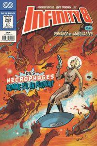 Infinity 8 (comics) T2 : Romance et macchabées (2/3) (0), comics chez Rue de Sèvres de Trondheim, Bertail