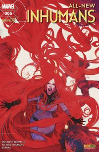 All-New Inhumans T5 : La quiet room, comics chez Panini Comics de Ellis, Soule, Asmus, Peterson, Boschi, Araujo, Brown, Mossa, Tartaglia, Sienkiewicz