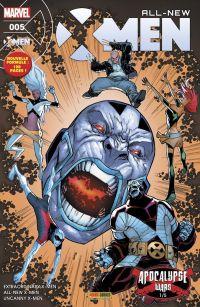 All-New X-Men T5 : Les guerres d'Apocalypse (1/3), comics chez Panini Comics de Lemire, Bunn, Hopeless, Ramos, Diaz, Bagley, Land, Lashley, Woodard, Rosenberg, Delgado