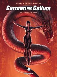 Carmen McCallum – cycle 5, T16 : Crimson Code (0), bd chez Delcourt de Duval, Emem, Maffre