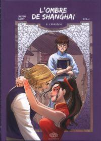 L' ombre de Shangaï  T5 : L'évasion, manga chez Les Editions Fei de Crépin, Marty, Lu