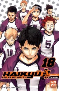 Haikyû, les as du volley T18 : , manga chez Kazé manga de Furudate
