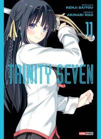 Trinity seven T11 : , manga chez Panini Comics de Nao, Saitô