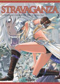 Stravaganza - La reine au casque de fer T1, manga chez Casterman de Tomi
