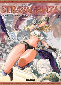 Stravaganza - La reine au casque de fer T2 : , manga chez Casterman de Tomi