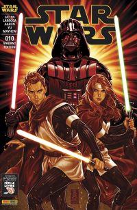 Star Wars (revue Marvel) V1 – V 1, T10 : Prison rebelle (0), comics chez Panini Comics de Aaron, Gillen, Larroca, Alanguilan, Yu, Tartaglia, Mayhew, Delgado, Gho, Brooks