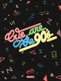 We are the 90's : , bd chez Delcourt de Collectif