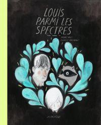 Louis parmi les spectres, bd chez La pastèque de Arsenault, Britt