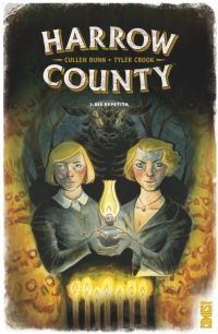 Harrow County T2 : Bis repetita, comics chez Glénat de Bunn, Crook