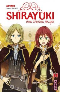 Shirayuki aux cheveux rouges T14, manga chez Kana de Akizuki