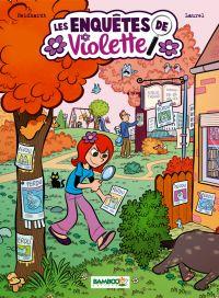 Les Enquêtes de Violette T1 : , bd chez Bamboo de Neidhardt, Laurel