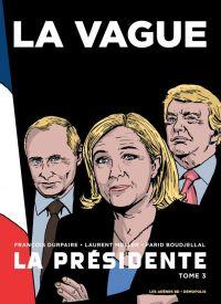 La Présidente T3 :  Le Dernier Livre (0), bd chez Les arènes de Durpaire, Boudjellal