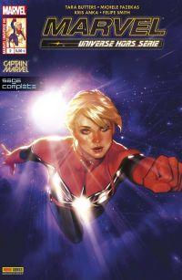 Marvel Universe - Hors Série T2 : Captain Marvel - L'étoile de Hala, comics chez Panini Comics de Butters, Fazekas, Smith, Anka, Wilson, Hughes