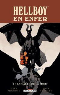 Hellboy en Enfer T2 : La carte de la mort, comics chez Delcourt de Mignola, Stewart