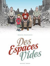 Des Espaces vides, bd chez Delcourt de Miguel